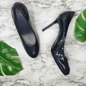 Stuart Weitzman Black Stiletto Pumps. Size 10 M